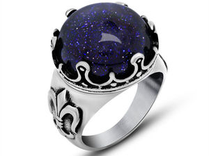 Красивые кольца с камнем огранки «Кабошон». Ярмарка Мастеров - ручная работа, handmade.