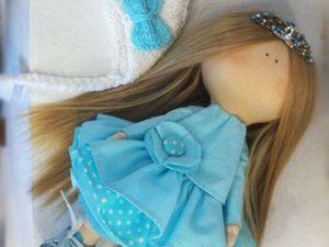 Шьем голову для текстильной куклы. Ярмарка Мастеров - ручная работа, handmade.