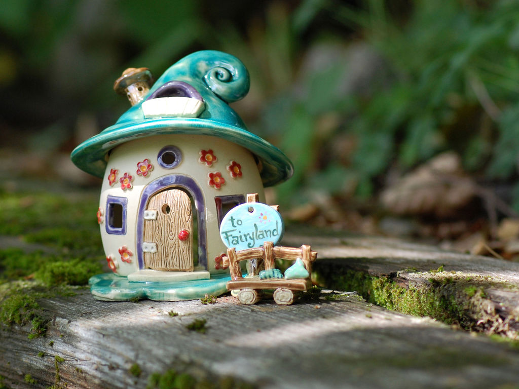 Домики для фей: волшебные керамические подсвечники Antje Rosemann, фото № 14
