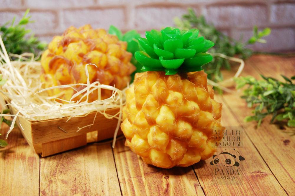 мыло ручной работы, ананас