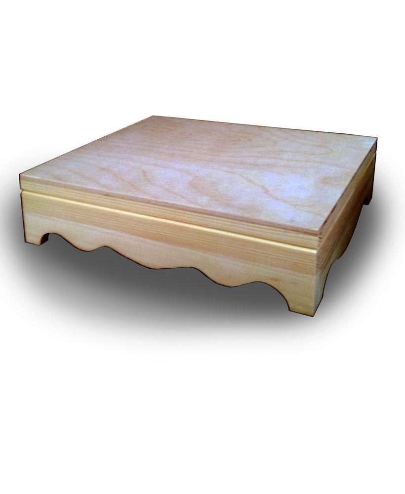 сундук, фанера, коробка для украшений