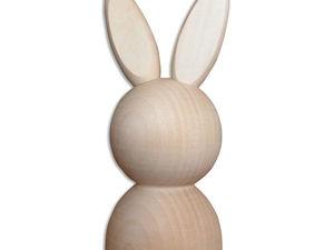 Деревянная заготовка Фигурка зайца 105хd45мм. Ярмарка Мастеров - ручная работа, handmade.