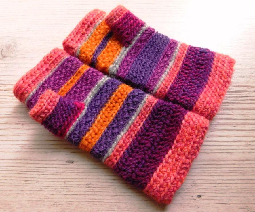шапочка, ручное вязание