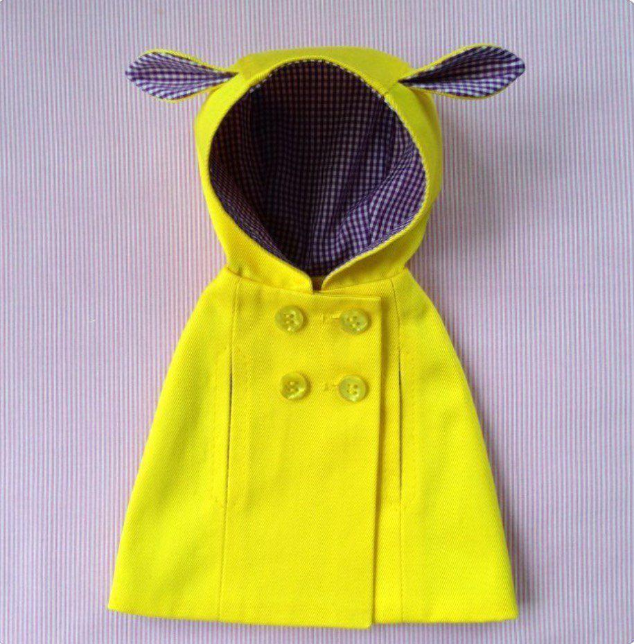 Курточка для куклы от Дины Крыловой (МК), фото № 9