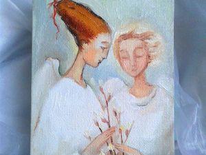 Кому счастья?! Аукцион  на маленьких ангелов!!. Ярмарка Мастеров - ручная работа, handmade.