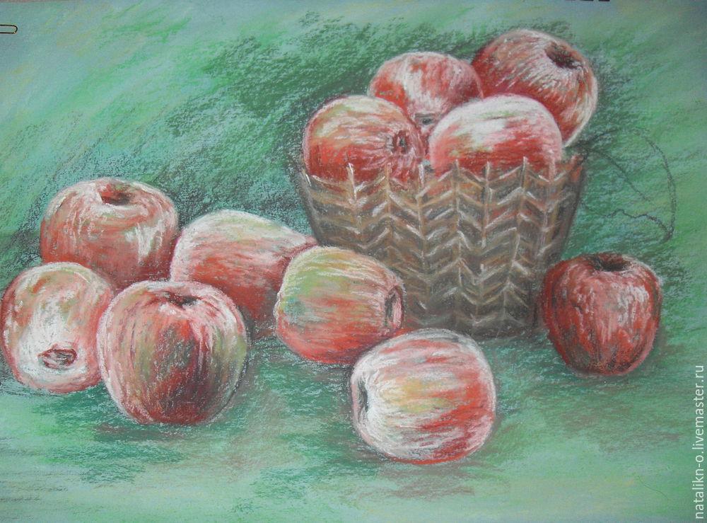 мк яблоки пастелью