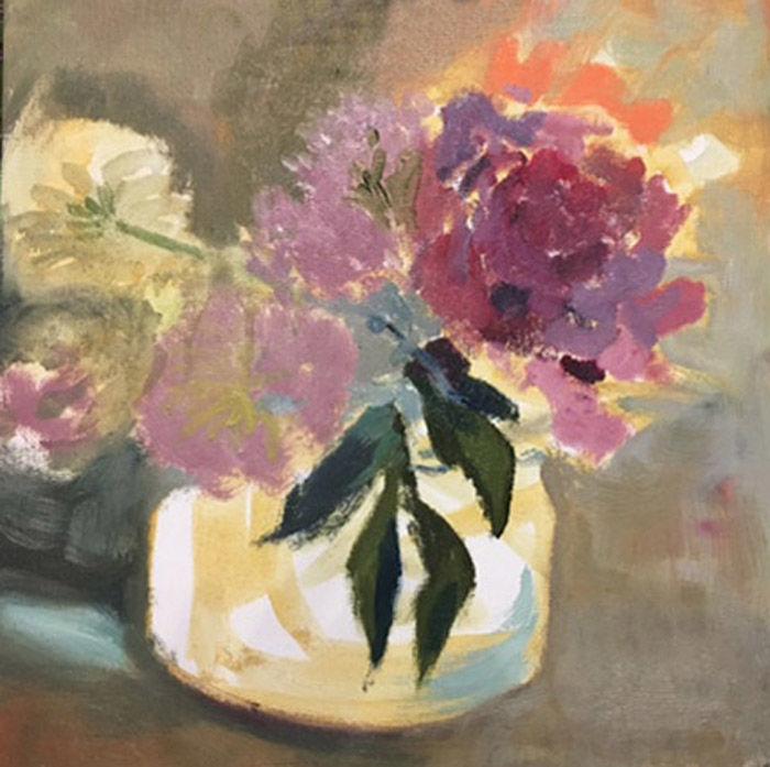 цветы, время пионов