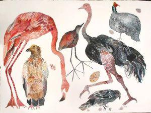 Разнообразие и гармония природы в необычных картинах Michelle Morin. Ярмарка Мастеров - ручная работа, handmade.
