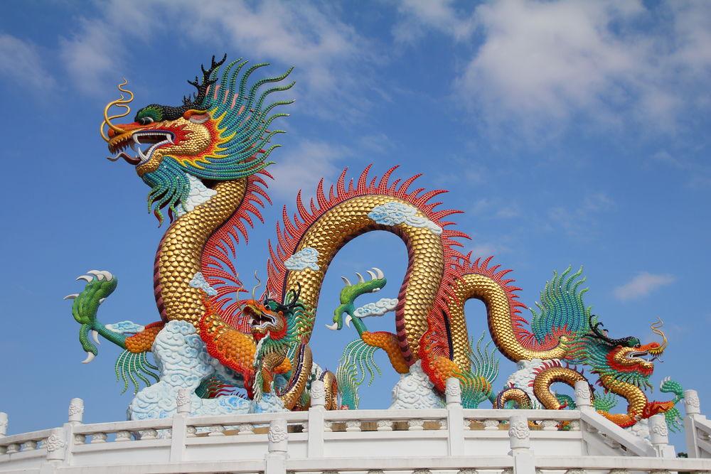 дракон, восток, драконы