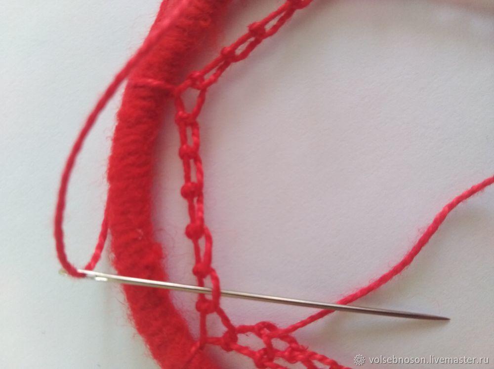 плетение узора