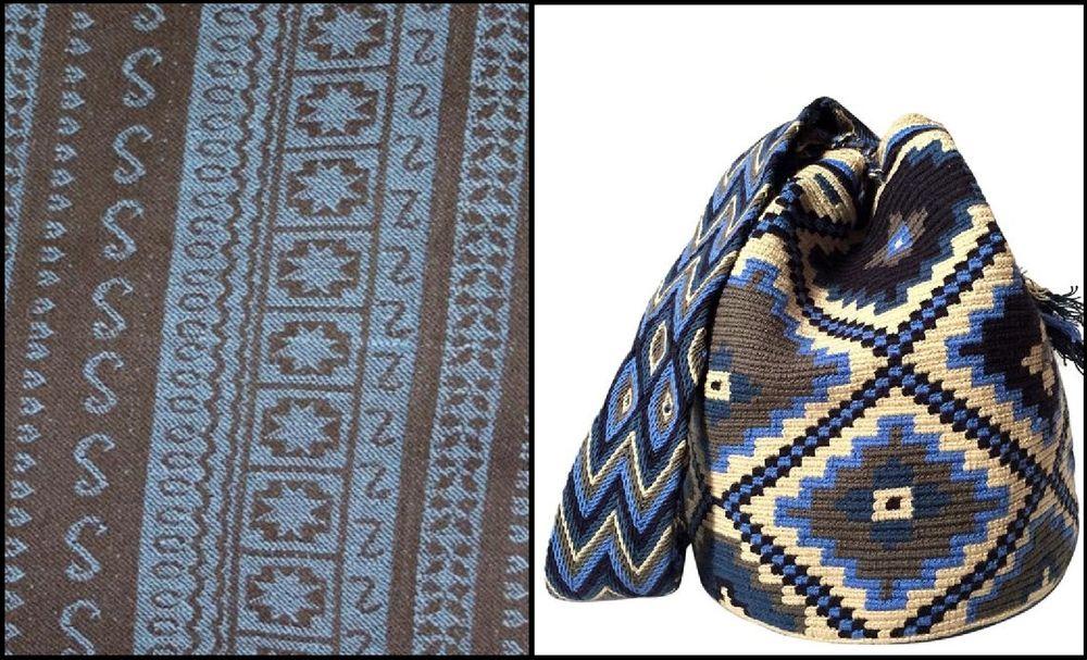 вязаная сумка, этно-стиль, вдохновение
