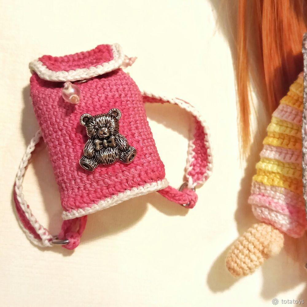 рюкзак для куклы