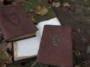 Мистическая книга ручной работы в мягкой обложке из натуральной кожи.. Ярмарка Мастеров - ручная работа, handmade.