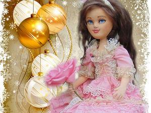 Розыгрыш текстильной куколки Анютки | Ярмарка Мастеров - ручная работа, handmade
