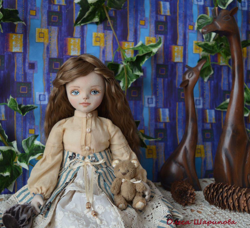 авторская работа, кукла в подарок, куклыолесишариповой, куклывтольятти