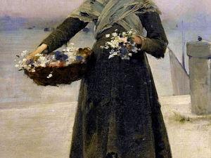 Маленькие цветочницы в живописи: 39 прекрасных портретов. Ярмарка Мастеров - ручная работа, handmade.