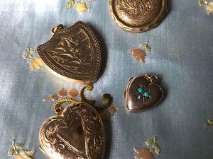 Коллекция медальонов Викторианской Эпохи.. Ярмарка Мастеров - ручная работа, handmade.
