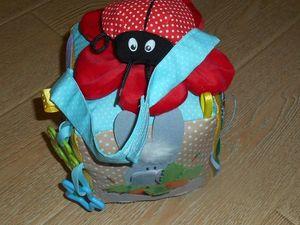 Развивающий кубик для малышей.. Ярмарка Мастеров - ручная работа, handmade.