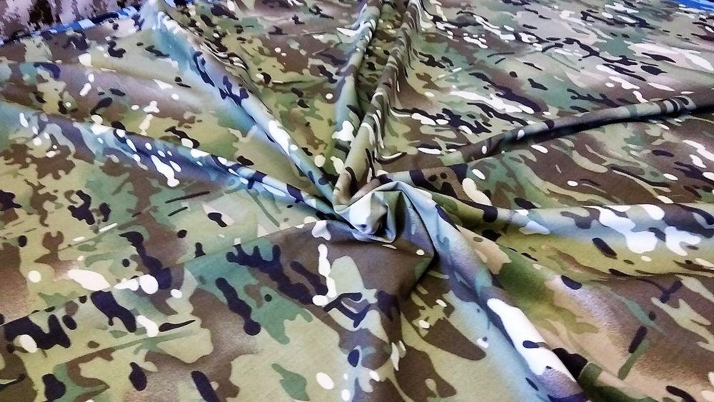 оксфорд 210 мультикам, курточная ткань мультикам