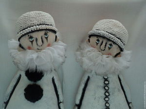 В магазине уже два Пьеро! | Ярмарка Мастеров - ручная работа, handmade