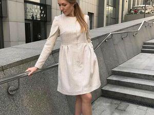 Шикарное весеннее платье от EVstudio   Ярмарка Мастеров - ручная работа, handmade