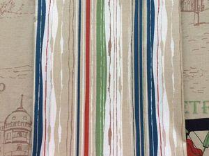 В наличии: Перкаль Разноцветная полоска. Ярмарка Мастеров - ручная работа, handmade.