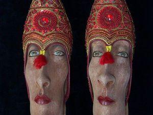 Обувь с человеческим лицом от Gwen Murphy. Ярмарка Мастеров - ручная работа, handmade.