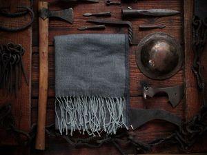 """Коллекция мужских шарфов """"Рустик"""". Ярмарка Мастеров - ручная работа, handmade."""