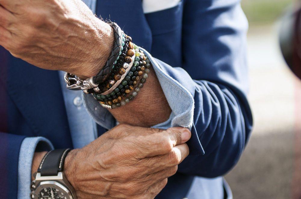 Мужские браслеты на грани стиля унисекс, фото № 30