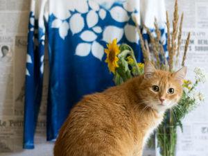 И снова про кота. Ярмарка Мастеров - ручная работа, handmade.