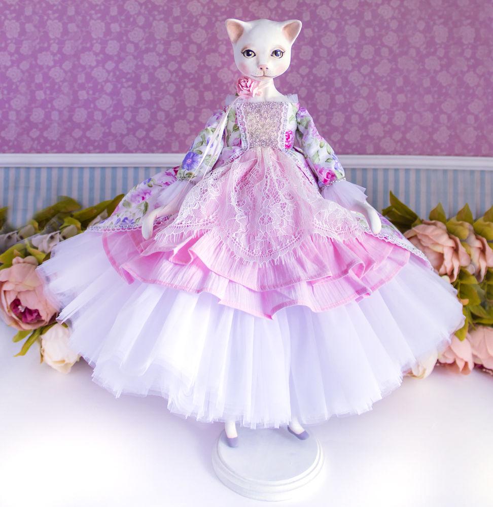 купить кукла кошечка
