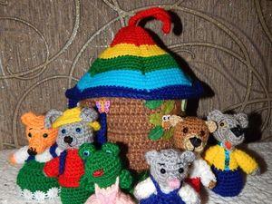 Кукольный театр для самых маленьких. Ярмарка Мастеров - ручная работа, handmade.