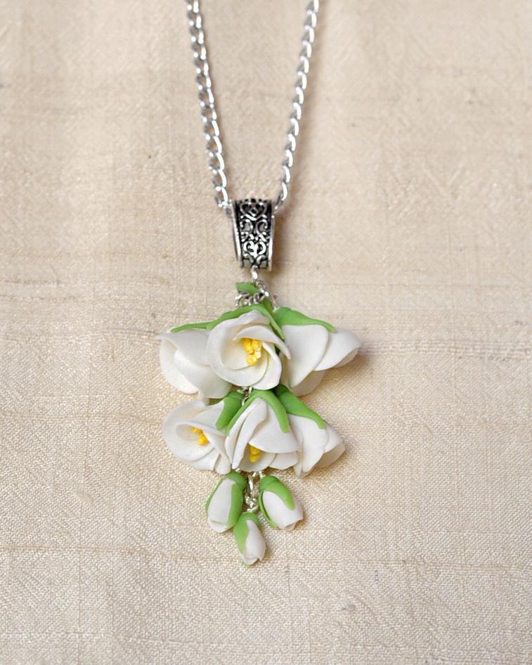 свадебные аксессуары, цветы жасмина