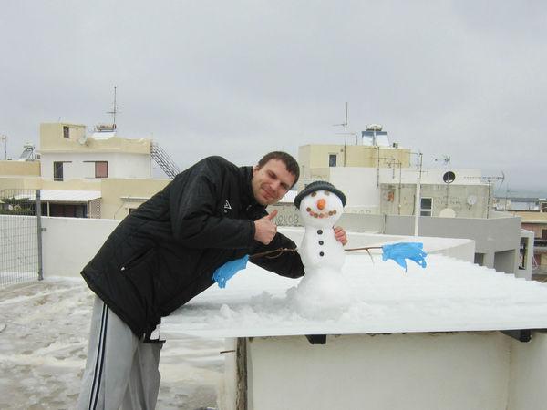 Крит Ретимно Снежный арт-объект | Ярмарка Мастеров - ручная работа, handmade