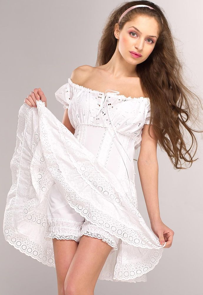 Белое бохо, или Шикарная одежда для королевы летнего пляжа, фото № 60