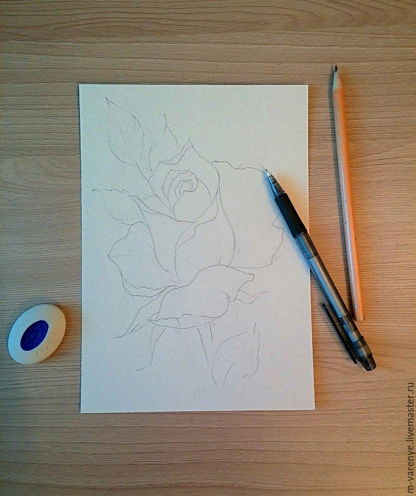 акварельная живопись, батик