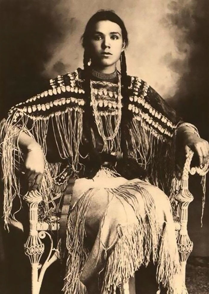 What the Indigenous Women of North America Looked Like: Vintage Photos of Indian Girls, фото № 4
