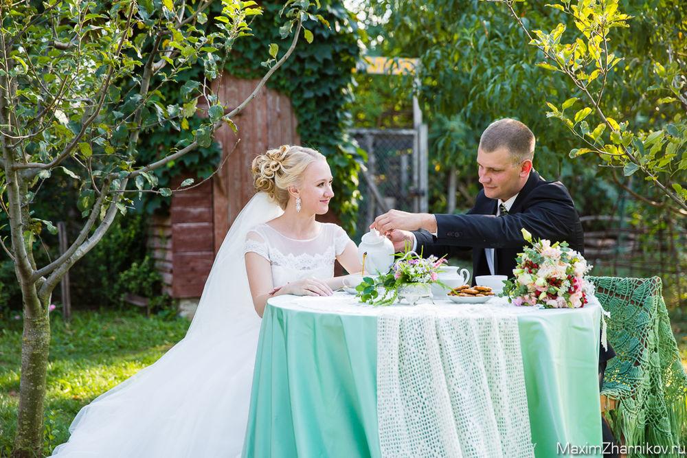 свадебная фотосессия, декор