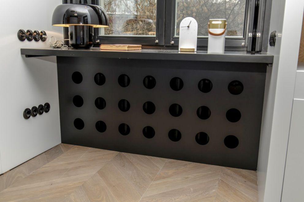 45 идей для декорирования батарей отопления, или Как «замаскировать» радиаторы отопления дома, чтобы не мозолили глаза, фото № 33