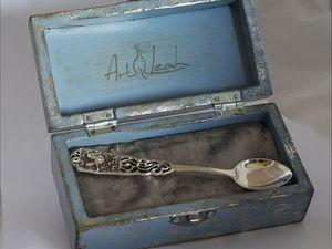 Серебряная ложка для самого любимого... | Ярмарка Мастеров - ручная работа, handmade