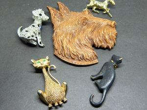 Винтажные домашние животные. Ярмарка Мастеров - ручная работа, handmade.