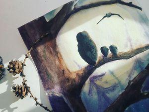 Книжка-малышка по результатам интуитивной живописи-3