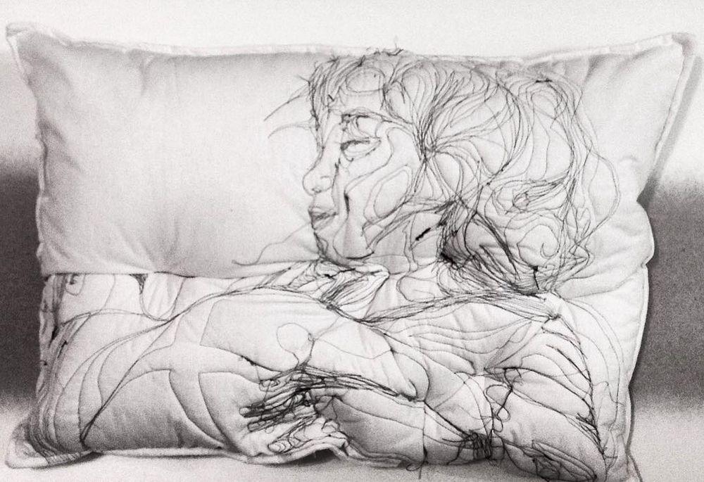 Погруженные в сон: вышивка на подушках Maryam Ashkanian, фото № 7