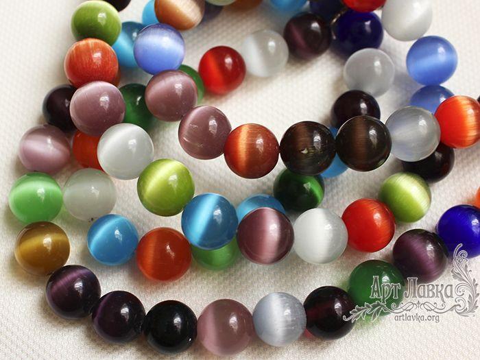 натуральные камни, браслет из камней, хризоберилл