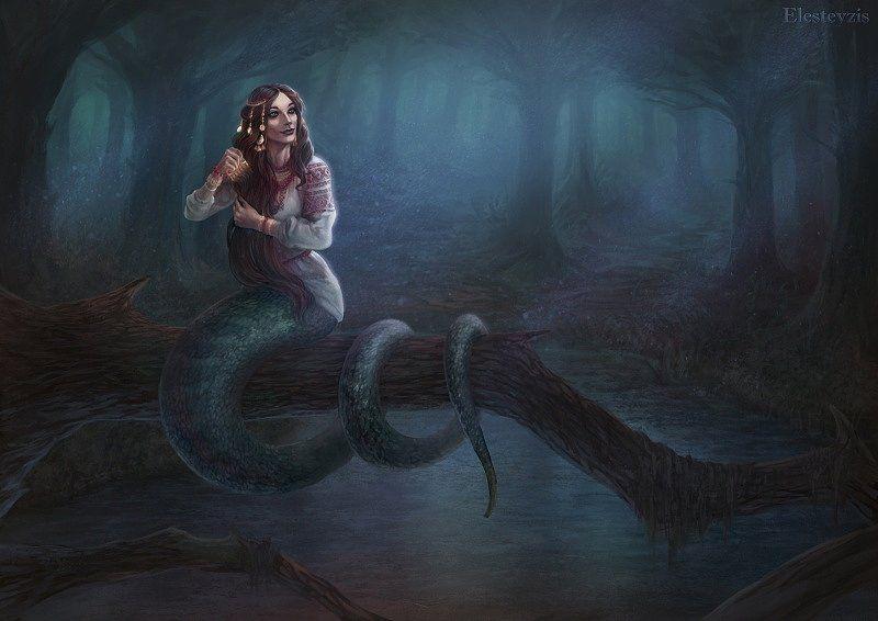 змея в мифологии, змеи в фэнтези