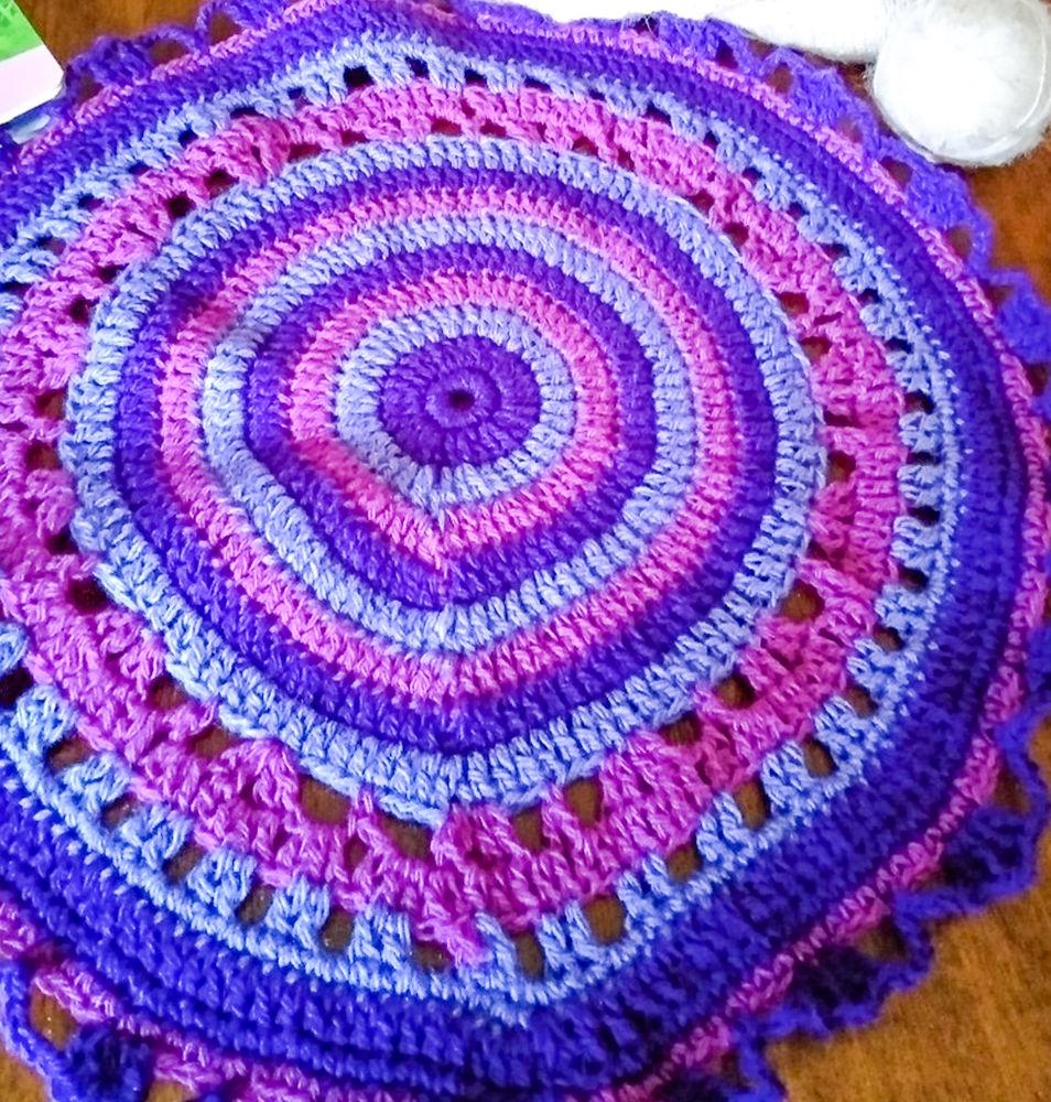 Яркие салфетки от бабушки Ани