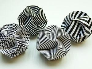 Делаем красивые шары из бумаги: видео мастер-класс. Ярмарка Мастеров - ручная работа, handmade.