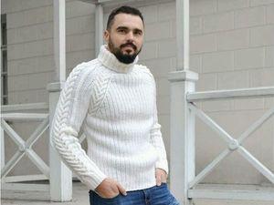 Как заказать мужской свитер. Ярмарка Мастеров - ручная работа, handmade.