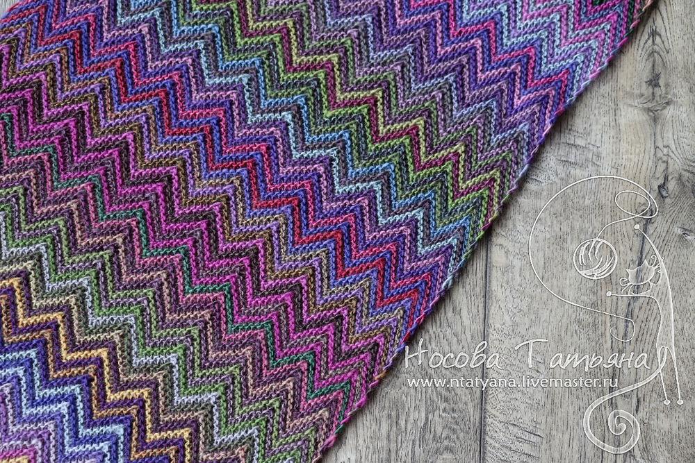 красивый шарф, шарф шерстяной, миссони