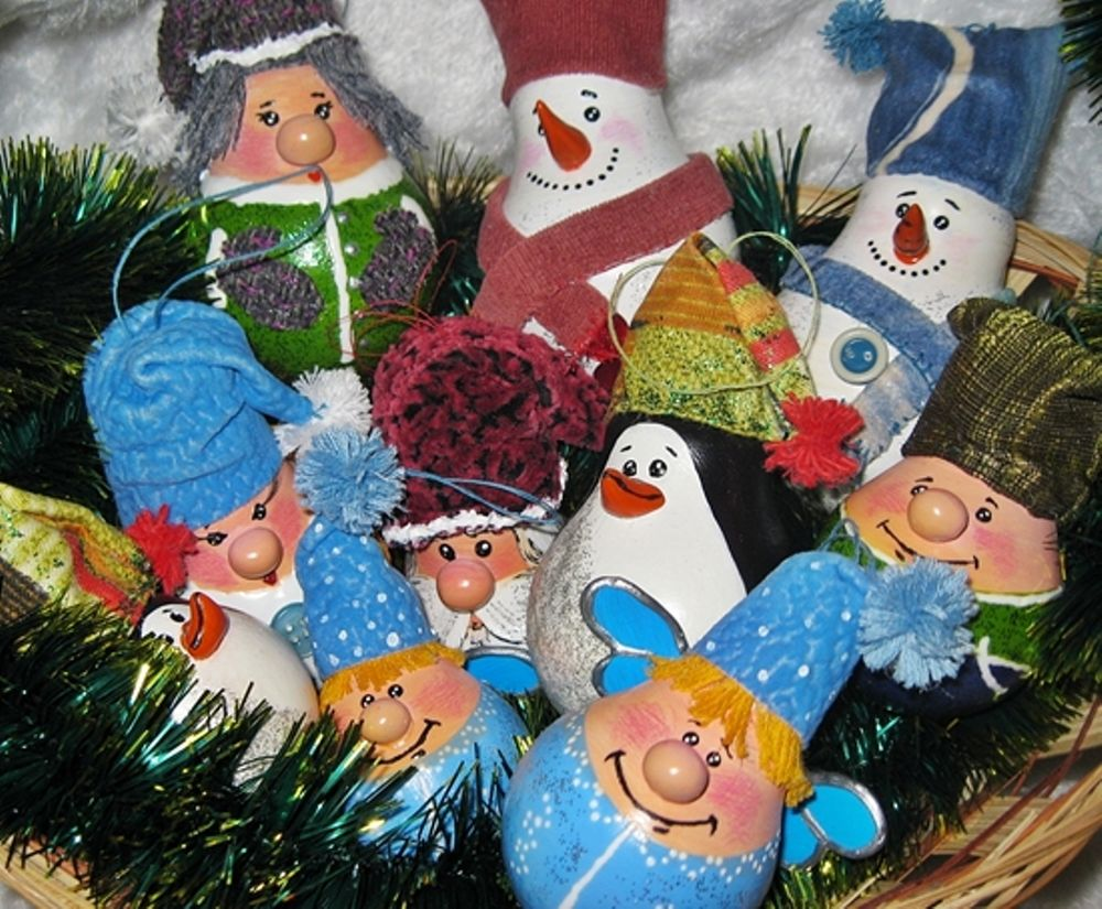 Christmas Decorations from Recycled Materials, фото № 9